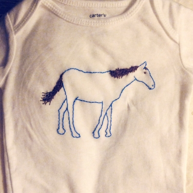 hand embroidered onesies