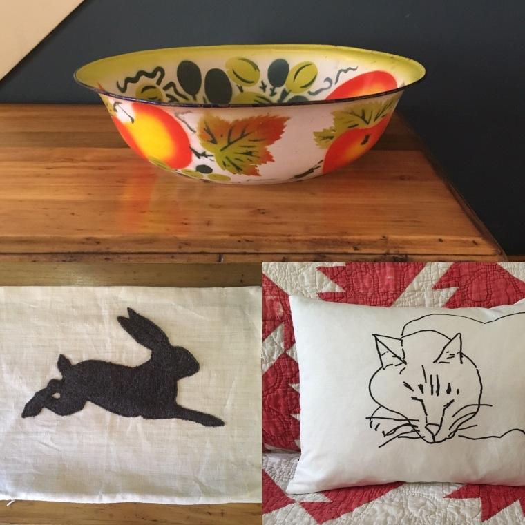 Cloth_pillows and bowls